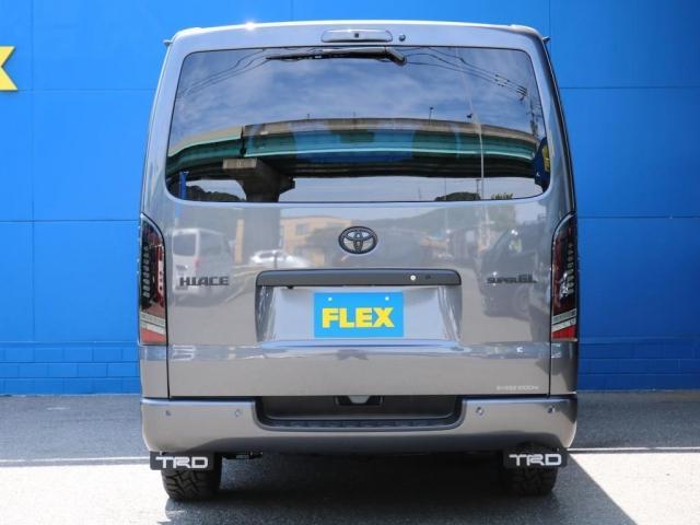 スーパーGL ダークプライムII ロングボディ FLEX BLACKオフロードスタイル アルパイン 11インチフローティングナビ TRDフロントスポイラー TRDマッドガード AVEST ドアミラーウィンカー 415COBRA LEDテールランプ(11枚目)