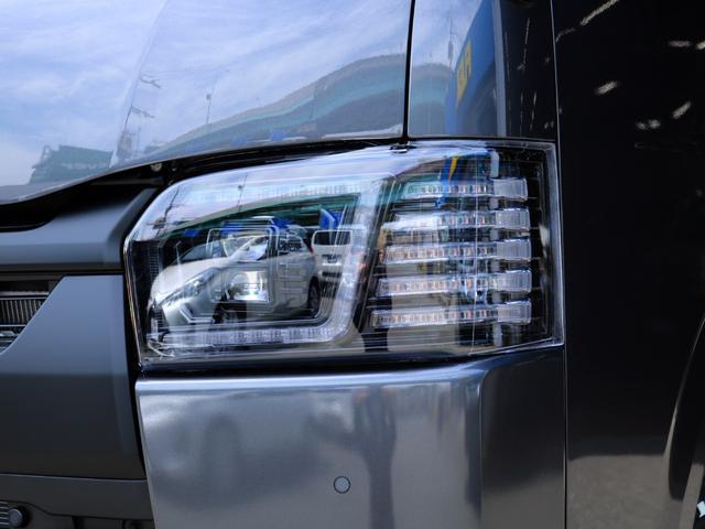 スーパーGL ダークプライムII ロングボディ FLEX BLACKオフロードスタイル アルパイン 11インチフローティングナビ TRDフロントスポイラー TRDマッドガード AVEST ドアミラーウィンカー 415COBRA LEDテールランプ(23枚目)