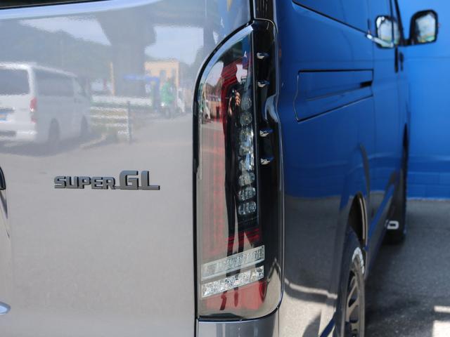 スーパーGL ダークプライムII ロングボディ FLEX BLACKオフロードスタイル アルパイン 11インチフローティングナビ TRDフロントスポイラー TRDマッドガード AVEST ドアミラーウィンカー 415COBRA LEDテールランプ(25枚目)