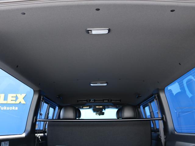 スーパーGL ダークプライムII ロングボディ FLEX BLACKオフロードスタイル アルパイン 11インチフローティングナビ TRDフロントスポイラー TRDマッドガード AVEST ドアミラーウィンカー 415COBRA LEDテールランプ(39枚目)