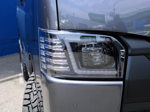 スーパーGL ダークプライムII ロングボディ FLEX BLACKオフロードスタイル アルパイン 11インチフローティングナビ TRDフロントスポイラー TRDマッドガード AVEST ドアミラーウィンカー 415COBRA LEDテールランプ(64枚目)