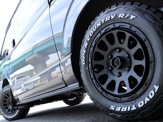 スーパーGL ダークプライムII ロングボディ FLEX BLACKオフロードスタイル アルパイン 11インチフローティングナビ TRDフロントスポイラー TRDマッドガード AVEST ドアミラーウィンカー 415COBRA LEDテールランプ(66枚目)