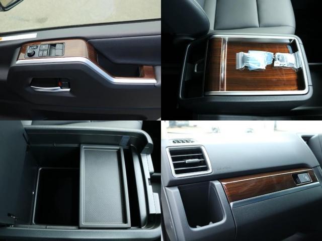 プレミアム Premium 6人運転席8ウェイパワーシート&助手席4ウェイパワーシート(快適温熱シート)エグゼクティブパワーシート(リヤ席1列目2列目快適温熱シート)本革+木目調ステアリングステアリングスイッチ(14枚目)