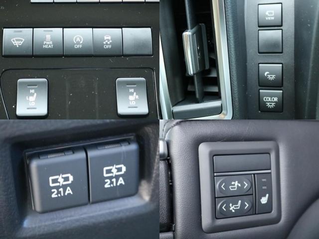 プレミアム Premium 6人運転席8ウェイパワーシート&助手席4ウェイパワーシート(快適温熱シート)エグゼクティブパワーシート(リヤ席1列目2列目快適温熱シート)本革+木目調ステアリングステアリングスイッチ(15枚目)