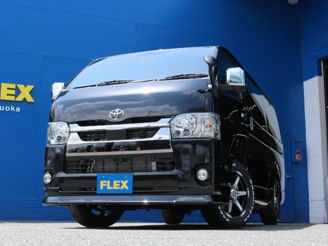 スーパーGL ダークプライムII FLEXベッドキットPKGFLEX ベッドキット Type2 FLEX DelfinoLineフロントリップスポイラー ROOK KELLY MX-III 17インチAWグッドイヤーナスカータイヤ(4枚目)