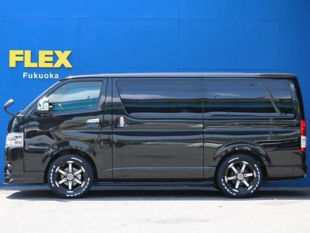 スーパーGL ダークプライムII FLEXベッドキットPKGFLEX ベッドキット Type2 FLEX DelfinoLineフロントリップスポイラー ROOK KELLY MX-III 17インチAWグッドイヤーナスカータイヤ(9枚目)