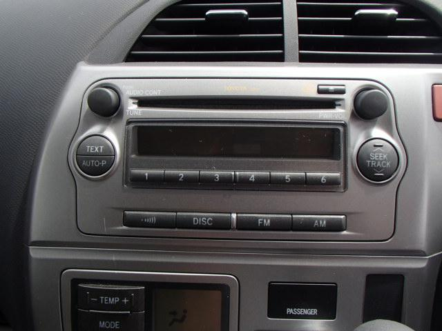 トヨタ ラクティス X Lパッケージ スマートキー PUSHスタート 純正CD