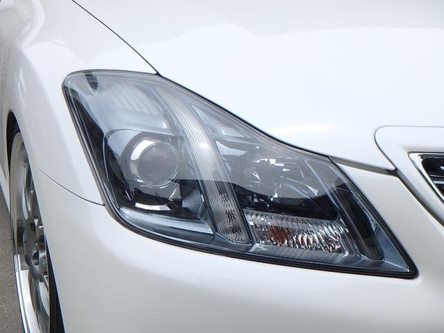 トヨタ クラウン 2.5アスリート HDDナビTV 新品19インチアルミ車高調
