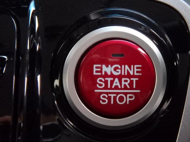 こちらはエンジンPUSHスタートボタンです。このボタンに憧れていた方も多いと思います。私もそうでした。これからはカギを回す事無く、指一本でエンジンPUSUスタート!