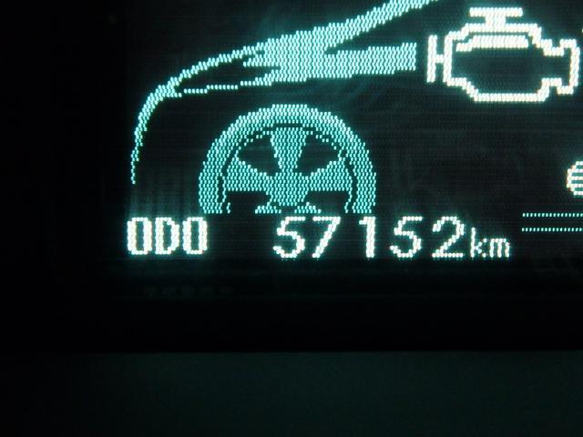 ご覧の通り走行距離は約5.7万kmですので、これからもまだまだ十分に走ってくれます。