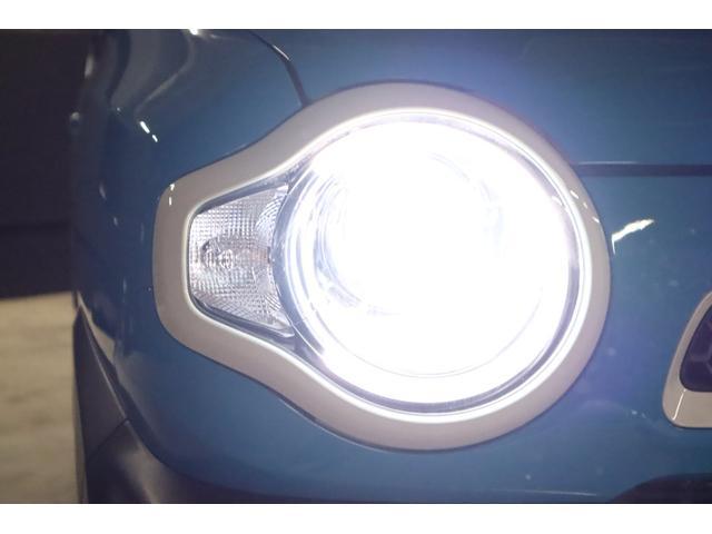 ヘッドライトはHIDシステムですので、ご覧の通り純白光のとっても明るくキレイな輝きです。