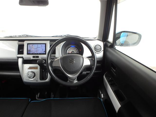 運転手席に座るとこの様な感じです。遊べる軽HUSTLERで思いっきり楽しんで下さい。