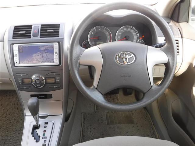 トヨタ カローラアクシオ X HIDリミテッド SDナビ