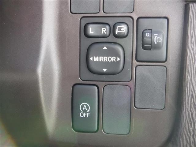 電動格納ミラーの操作スイッチですね。 駐車時にミラーを動かそうと外に出る必要も無く、悪天候の時でも運転席に居ながらミラーの操作できますよ。 一度使うと手放せない装備ですよね。