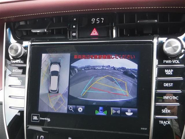 複数のカメラを駆使して駐車をサポート。