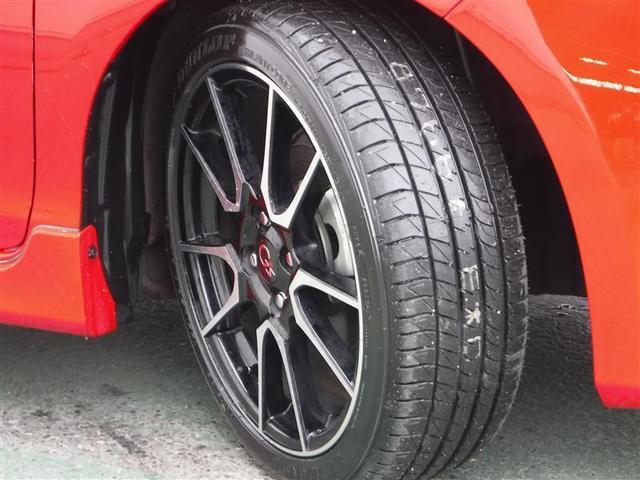 17インチ純正アルミホイール付きです。タイヤの溝もバッチリ残っています。ココも中古車選びのポイントですよ♪