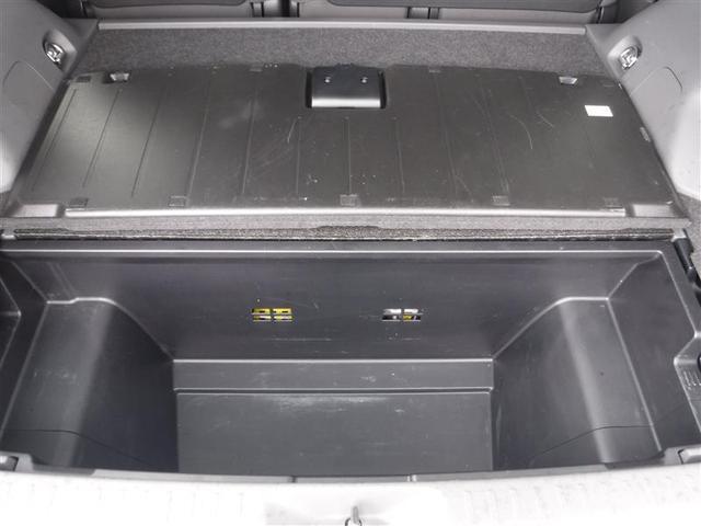 トランクル-ムのデッキボ-ド下にはデッキアンダ-トレ-が付いてますので、転がりやすいお荷物などの収納に便利です。