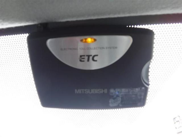 ETC付きです。高速道路料金所での小銭の出し入れや雨天時における窓の開け閉めなどの煩わしさが解消できます。