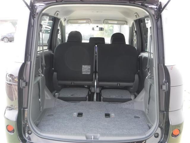 【シート】リヤシートを収納すれば、広大なスペースが生まれます。長尺物もラクラク積めちゃいます!