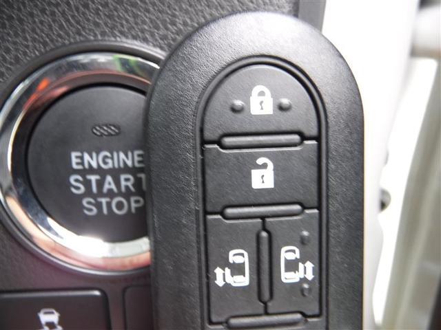スマートエントリーキーは、ポケットやセカンドバックの中でもドアロックの開閉&エンジンスタートOKです♪