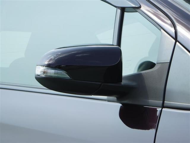 ターンランプ(ウィンカー)付ドアミラー装備車です☆見た目の、カッコ良さだけでなく、車両側後方の原付や、歩行者等への、注意喚起にも役立つスグレモノです♪