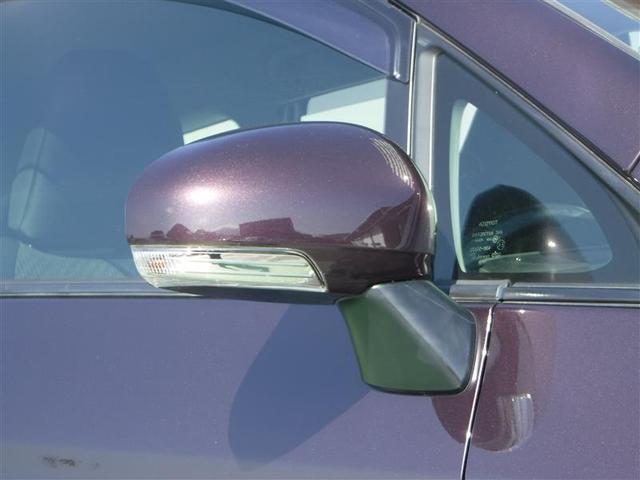 巻き込み事故防止のためのターンランプ付きドアミラーです。