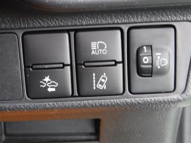 トヨタセーフティーセンスの調整スイッチです。