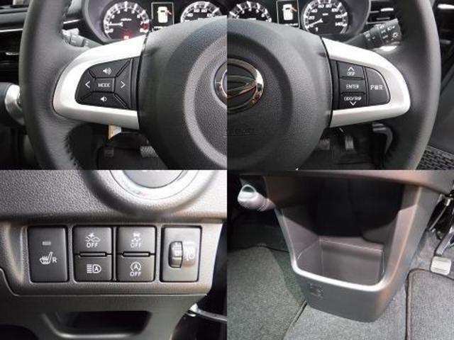 カスタム RS ハイパーSAIII 衝突軽減ブレーキ ベンチシート LEDヘッドライト スマートキー(14枚目)