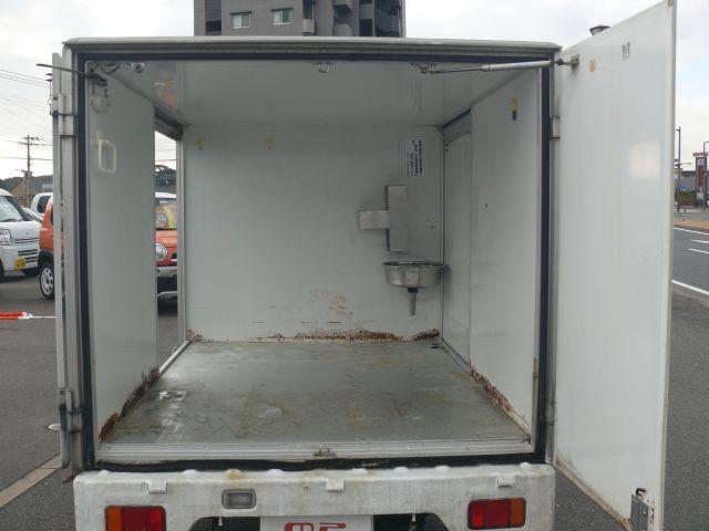 スズキ キャリイトラック KU Tチェーン 両側スライドドア リヤ観音開き 保冷庫