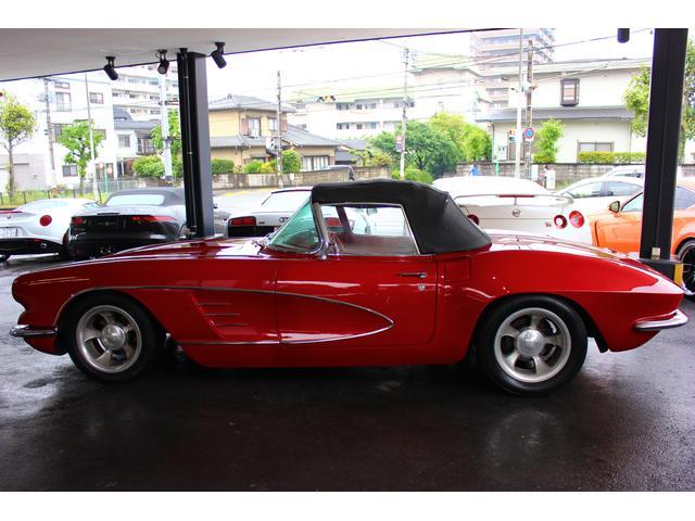 C1 61モデル レストア車 AT 左ハンドル 赤革 車高調(2枚目)