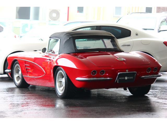 C1 61モデル レストア車 AT 左ハンドル 赤革 車高調(3枚目)