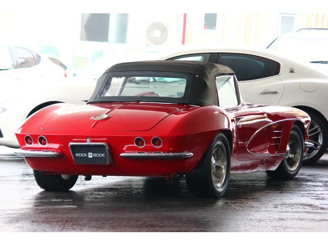 C1 61モデル レストア車 AT 左ハンドル 赤革 車高調(6枚目)