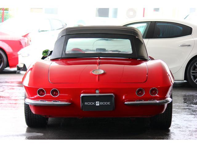 C1 61モデル レストア車 AT 左ハンドル 赤革 車高調(8枚目)