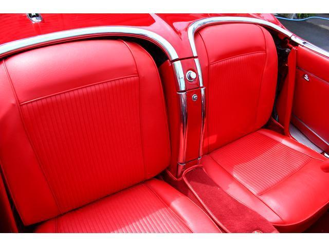 C1 61モデル レストア車 AT 左ハンドル 赤革 車高調(16枚目)