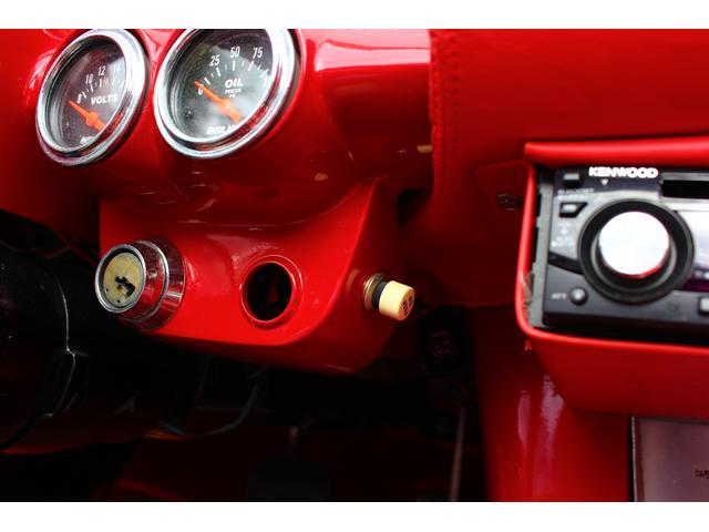 C1 61モデル レストア車 AT 左ハンドル 赤革 車高調(17枚目)