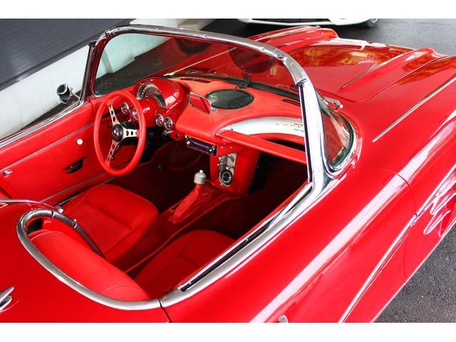 C1 61モデル レストア車 AT 左ハンドル 赤革 車高調(19枚目)