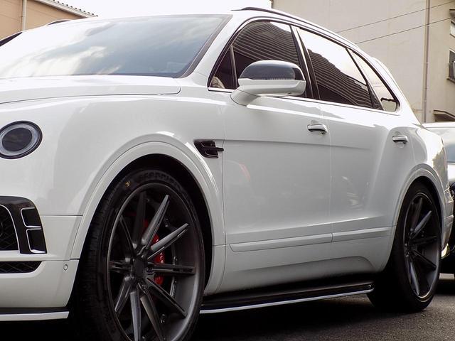 ベースグレード D車左H ツーリング&カーボンスタイリング&マリーナドライビングスペック SR MANSORYカーボンボンネット Precisione24inAW STARTECHマフラー 電動サイドステップ 黒革(45枚目)