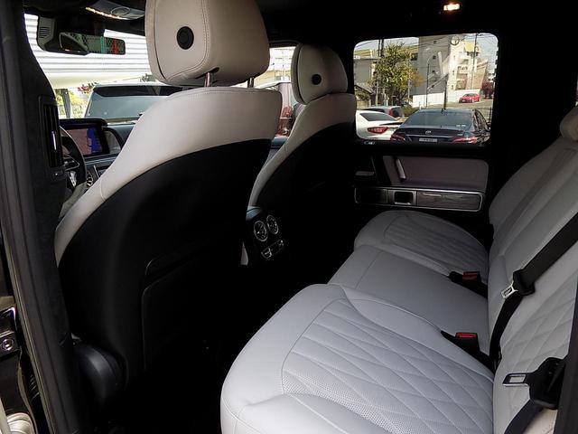 G400d マヌファクトゥーアエディション 限定車 D車左H インテリア+PKG AMGライン ラグジュアリーPKG 白革 SR アダプティブダンピング レーダーセーフティ 360°カメラ AMG20inAW ベンチレーション&マッサージシート(16枚目)
