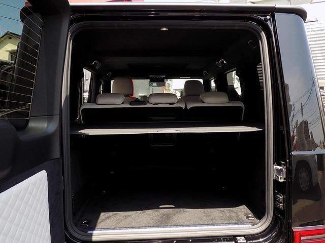 G400d マヌファクトゥーアエディション 限定車 D車左H インテリア+PKG AMGライン ラグジュアリーPKG 白革 SR アダプティブダンピング レーダーセーフティ 360°カメラ AMG20inAW ベンチレーション&マッサージシート(17枚目)