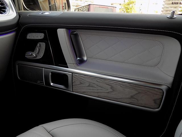 G400d マヌファクトゥーアエディション 限定車 D車左H インテリア+PKG AMGライン ラグジュアリーPKG 白革 SR アダプティブダンピング レーダーセーフティ 360°カメラ AMG20inAW ベンチレーション&マッサージシート(21枚目)