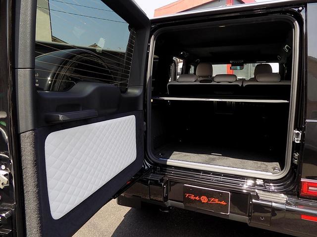 G400d マヌファクトゥーアエディション 限定車 D車左H インテリア+PKG AMGライン ラグジュアリーPKG 白革 SR アダプティブダンピング レーダーセーフティ 360°カメラ AMG20inAW ベンチレーション&マッサージシート(33枚目)