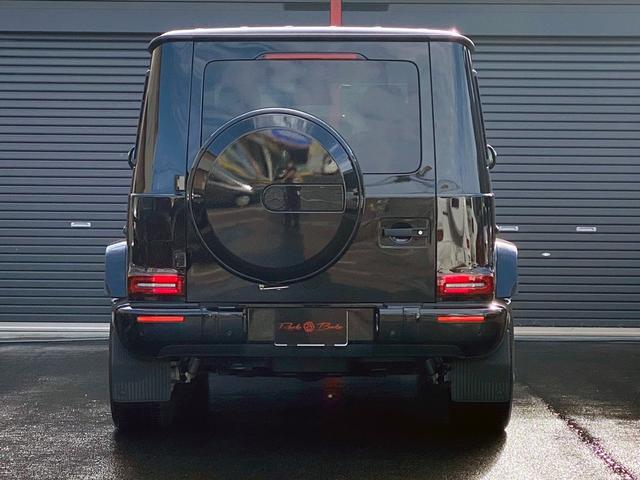 G400d マヌファクトゥーアエディション 限定車 左H AMGライン ラグジュアリーP アダプティブダンピング SR 黒革 360°カメラ ドラレコ付デジタルインナーミラー TVキット レーダーセーフティ Burmester AMG20AW(13枚目)