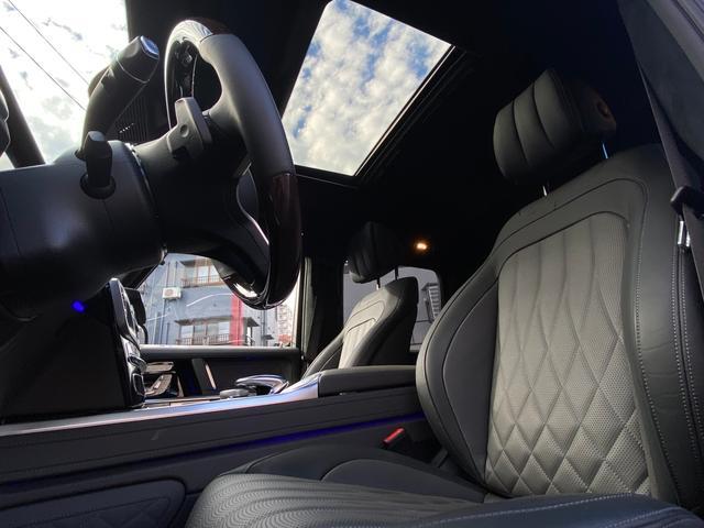 G400d マヌファクトゥーアエディション 限定車 左H AMGライン ラグジュアリーP アダプティブダンピング SR 黒革 360°カメラ ドラレコ付デジタルインナーミラー TVキット レーダーセーフティ Burmester AMG20AW(15枚目)