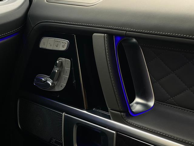 G400d マヌファクトゥーアエディション 限定車 左H AMGライン ラグジュアリーP アダプティブダンピング SR 黒革 360°カメラ ドラレコ付デジタルインナーミラー TVキット レーダーセーフティ Burmester AMG20AW(28枚目)
