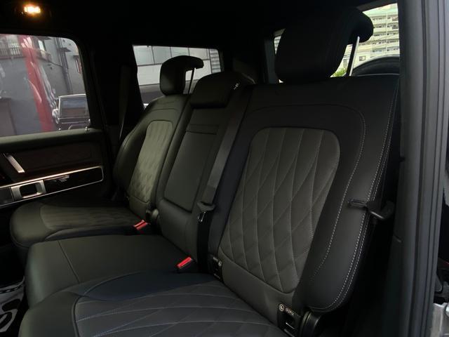 G400d マヌファクトゥーアエディション 限定車 左H AMGライン ラグジュアリーP アダプティブダンピング SR 黒革 360°カメラ ドラレコ付デジタルインナーミラー TVキット レーダーセーフティ Burmester AMG20AW(35枚目)