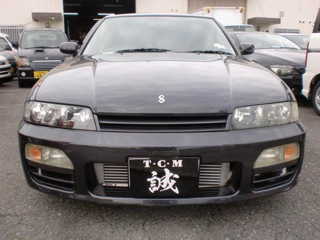 日産 スカイライン GTS25tタイプM スペックI ローダウン ターボ ナビ