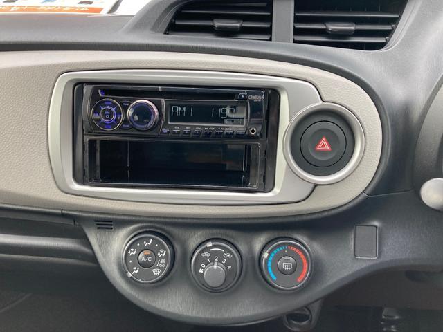 F ETC ミュージックプレイヤー接続可 CD キーレスエントリー 電動格納ミラー CVT 衝突安全ボディ ABS エアコン(12枚目)
