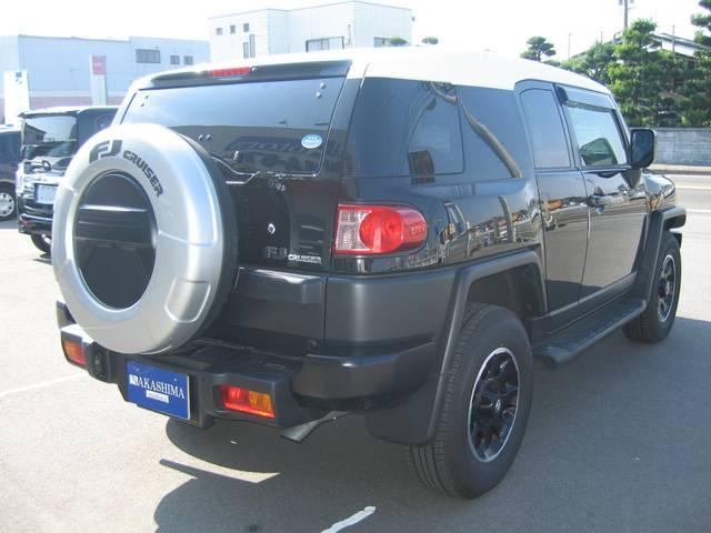 トヨタ FJクルーザー ブラックカラーパッケージ フルセグHDDナビ ワンオーナー