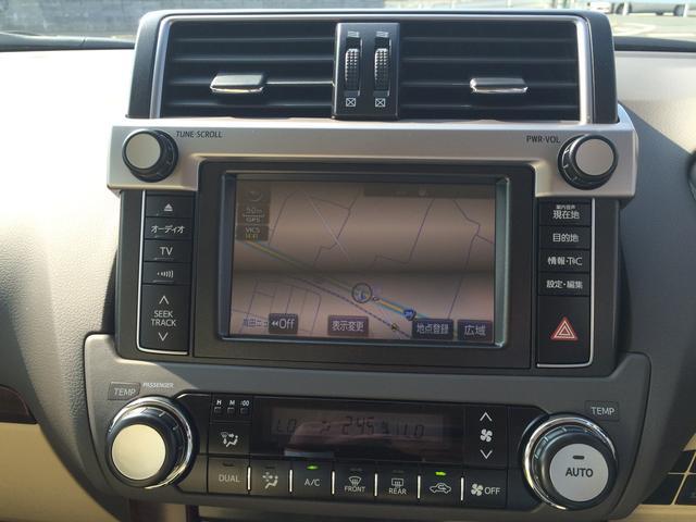 トヨタ ランドクルーザープラド TX Lパッケージ 本革シート サンルーフ 登録済未使用車