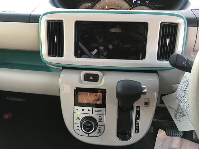 ダイハツ ムーヴキャンバス Gメイクアップ SAII ナビアップグレード 登録済未使用車